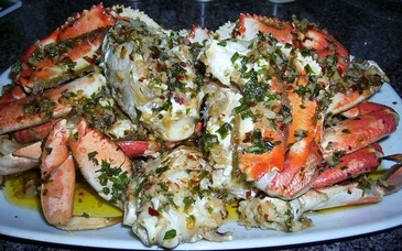 Marinated Crabs by Carolyn's Creole Kitchen - Creole Food Catering Services San Francisco