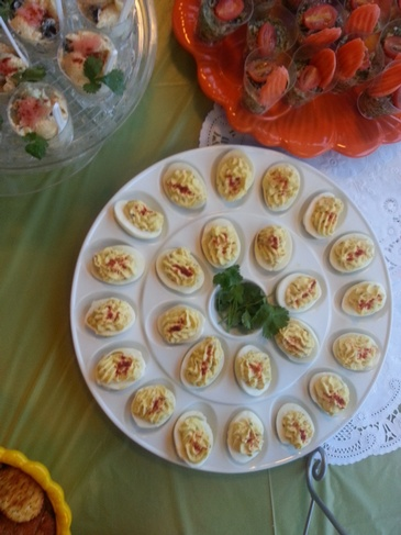 Deviled Eggs - Creole Caterers Alameda by Carolyn's Creole Kitchen